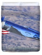 Yak Attack Sunday's Gold Unlimited Race Duvet Cover