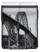 Yaquina Bay Bridge Duvet Cover