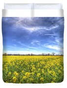 Yellow Fields Of Summer Duvet Cover