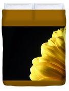 Yellow Gerbera Flower Duvet Cover