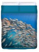 Yellowfin Goatfish Duvet Cover