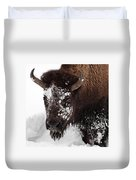 Yellowstone Buffalo Duvet Cover