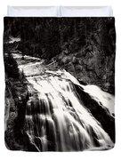 Yellowstone's Gibbon Falls Duvet Cover