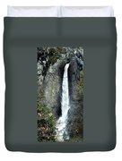 Yosemite Bridal Veil Falls Duvet Cover