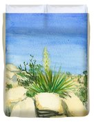 Yucca Tree Duvet Cover