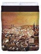 Zurich Skyline Duvet Cover