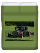 1930 Ford Coupe Hot Rod Duvet Cover