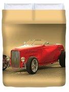 1932 Ford Hiboy Roadster Duvet Cover