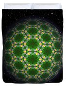 Abstract Planet Duvet Cover
