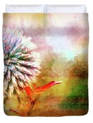 American Beach Cottage Art And Feelings Duvet Cover
