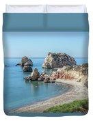 Aphrodite's Rock - Cyprus Duvet Cover