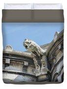 Basilica Du Sacre-coeur De Montmartre Duvet Cover