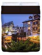 Colmar,petite Venice, Alsace, France, Duvet Cover