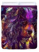 Dog Cavalier King Charles Spaniel  Duvet Cover