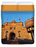 Edinburgh Castle, Scotland Duvet Cover