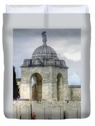 Flanders Fields Belgium Duvet Cover