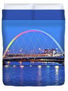 Glasgow, Scotland Duvet Cover