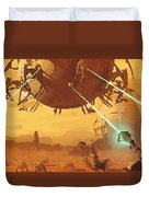 Imperial Star Wars Poster Duvet Cover