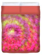 Impression Series - Floral Galaxies Duvet Cover by Ranjay Mitra