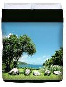 Keanae Maui Hawaii Duvet Cover