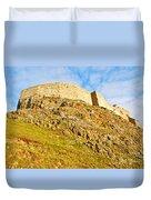 Lindisfarne Castle Duvet Cover
