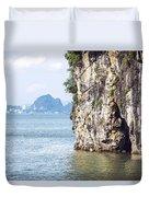 Picturesque Sea Landscape. Ha Long Bay, Vietnam Duvet Cover