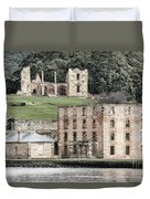 Port Arthur Building In Tasmania, Australia. Duvet Cover