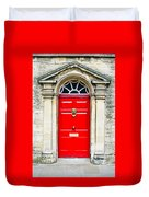 Red Door Duvet Cover
