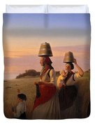 Rural Scene Duvet Cover
