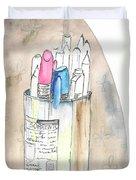 Sketches Duvet Cover