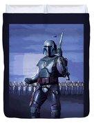 Star Wars Episode 2 Poster Duvet Cover