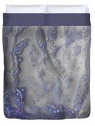 10. V1 Speckled Blue And Yellow Glaze Painting Duvet Cover