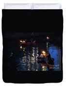 Waterfire Duvet Cover
