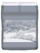 Winter Landscapes Duvet Cover