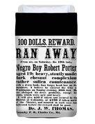 100 Dolls. Reward Ran Away Duvet Cover