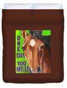 100 Mile Horse Duvet Cover