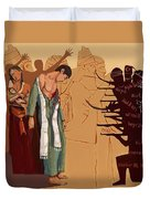 100 Years Of Genocide Duvet Cover