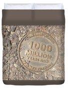 1000 Million Years Ago Duvet Cover