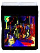 103 -   Psychedelic City Night .. Duvet Cover