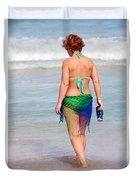 Female Beauty. Duvet Cover