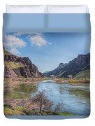 10905 Oregons Owyhee River   Duvet Cover