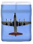109th Air Guard Schenectady Duvet Cover