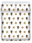 11 And Waffles Duvet Cover