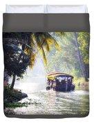 Backwaters Kerala - India Duvet Cover
