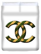 Chanel Style Png Duvet Cover