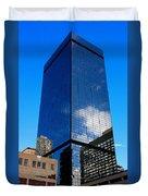 Denver Building Study Duvet Cover