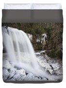 Dry Falls - Highlands, Nc Duvet Cover
