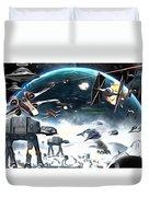 Empire Star Wars Poster Duvet Cover