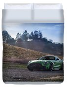 #mercedes #amg #gtr #print Duvet Cover by ItzKirb Photography