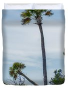 Palmetto Forest On Hunting Island Beach Duvet Cover